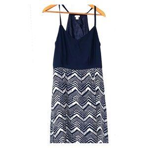 J. Crew Patterned Maxi Dress Size 12